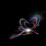Abstract heart shape Royalty Free Stock Photo