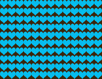 Abstract heart shape seamless pattern background Royalty Free Stock Photo