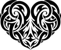 celtic heart tattoo stock illustration illustration of decor 35612521. Black Bedroom Furniture Sets. Home Design Ideas