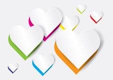 Abstract heart shape - vector Stock Photos