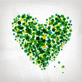 Abstract heart shape for your design Royalty Free Stock Photo