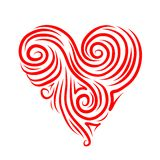 Abstract heart shape for your design Stock Photos