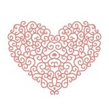 Abstract heart shape for your design Stock Images