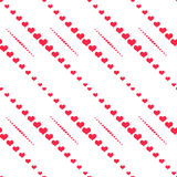 Abstract heart shaped seamless wallpaper pattern Stock Photos
