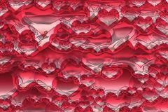 Abstract heart texture. Generated in computer Royalty Free Stock Photos