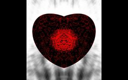 Abstract heart. royalty free stock image