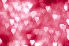 Abstract hearts Royalty Free Stock Images