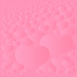 Abstract hearts background Stock Images