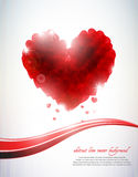 Abstract hearts background Stock Photos