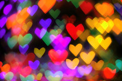 abstract hearts background Royalty Free Stock Photo