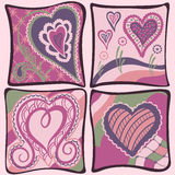 Abstract  hearts background Valentines day Stock Image