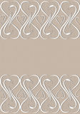 Abstract hearts on beige background. Stock Photos