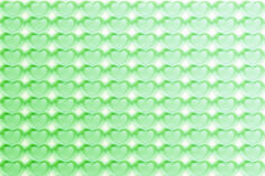 Abstract Hearts Pattern Background in green - pastel and vintage.  royalty free illustration