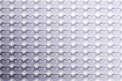 Abstract Hearts Pattern Background in grey vintage Stock Photos