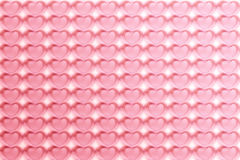 Abstract Hearts Pattern Background in Pink - pastel and vintage Royalty Free Stock Images