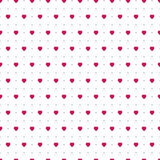 Abstract hearts. Seamless background for your design. Vector illustration. Love concept. Cute wallpaper. Good idea for your Weddin Stock Photo