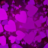 Abstract hearts Stock Photo