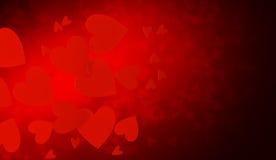 Abstract hearts Stock Photos