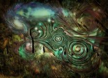 Abstract heelal Stock Fotografie