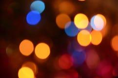 Abstract helder cirkelbokehonduidelijk beeld als achtergrond Royalty-vrije Stock Foto