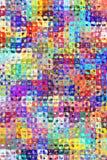 Abstract helder kleurenpatroon royalty-vrije illustratie