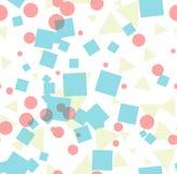 Abstract helder kleurrijk naadloos patroon stock illustratie