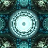 Abstract helder multicolored fractal computer geproduceerd beeld Royalty-vrije Stock Foto's