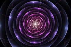 Abstract helder multicolored fractal computer geproduceerd beeld, achtergrond voor tekstetiketten Royalty-vrije Stock Foto's
