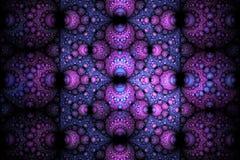 Abstract helder multicolored sferisch fractal computer geproduceerd beeld Royalty-vrije Stock Foto's