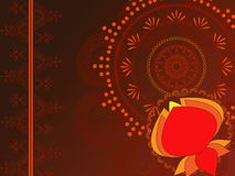 Free Abstract Henna Background Royalty Free Stock Photo - 9298795
