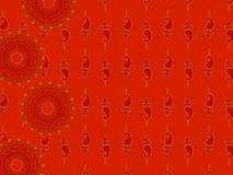 Free Abstract Henna Blocks Background Stock Images - 9676454