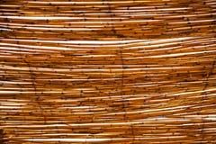 abstract het bamboedak van Marokko in Afrika Stock Foto