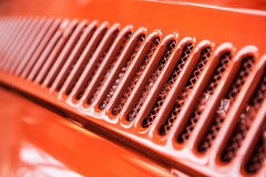 Abstract het koelen grilldetail Royalty-vrije Stock Foto's