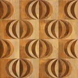 Abstract het met panelen bekleden patroon - het Binnenlandse patroon van het muurpaneel - muur D Stock Afbeeldingen