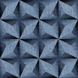 Abstract het met panelen bekleden patroon - naadloos patroon - jeans stock illustratie