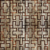 Abstract het met panelen bekleden patroon - naadloze achtergrond - het houten met panelen bekleden Royalty-vrije Stock Afbeeldingen