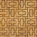 Abstract het met panelen bekleden patroon - naadloze achtergrond - houten textuur Royalty-vrije Stock Fotografie