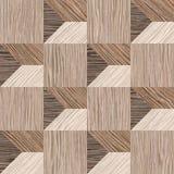 Abstract het met panelen bekleden patroon - naadloze achtergrond - Vernietigde Eik stock illustratie