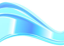 Abstract het ontwerpelement van de kleurengolf Stock Afbeelding