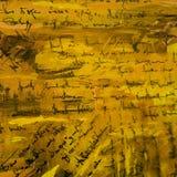 Abstract het schilderen pater behang met imitatie van handwritte royalty-vrije illustratie