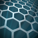 Abstract hexagon background Royalty Free Stock Photography