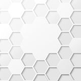 Abstract hexagon background. Royalty Free Stock Image