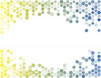 Abstract Hexagon Background. Light Vector Pattern Royalty Free Stock Photo