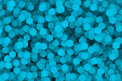 Abstract Hexagon Royalty Free Stock Photography