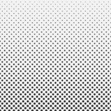 Abstract hexagon halftone pattern background black and white royalty free illustration