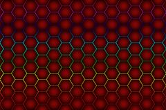 Abstract hexagon honeycomb background. Abstract hexagon honeycomb wall background vector illustration