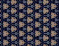 Abstract hexagon kaleidoscope pattern Royalty Free Stock Photos