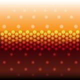 Abstract hexagon lights Royalty Free Stock Photo