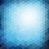 Abstract hexagon mosaic gradient background Stock Image