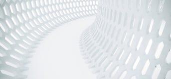 Abstract Hexagon Net Mesh Tunnel Stock Fotografie